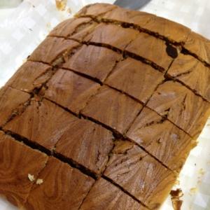 ホットケーキミックスで、マーブルケーキ