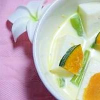 はんぺん&カボチャのスープ