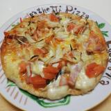 タップリきのこのミックスピザ