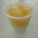 パイナップル杏仁豆腐ゼリー