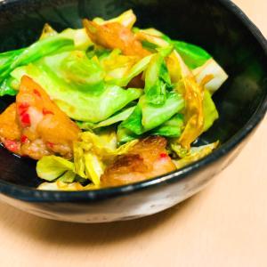 生姜天のキャベツ炒め