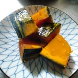 黄金比!かぼちゃの煮物 お弁当や常備菜に