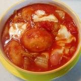 トマト缶を使って!白菜と餅麩のビーフシチュー