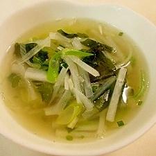 ねぎ塩スープ