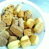 簡単☆バター、卵、牛乳を使わない!クッキー