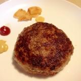 牛肉でパテ☆丸めただけステーキ