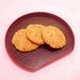 お茶の葉香る♪米粉とおからのヘルシークッキー