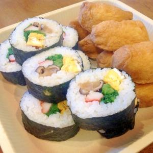 みんなで食べよう!巻き寿司といなり寿司