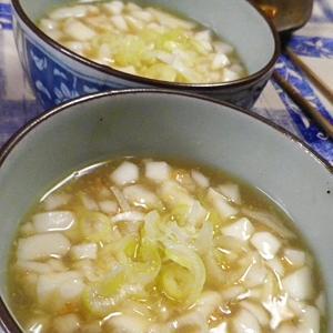 オキアミはんぺんとろみ味噌汁