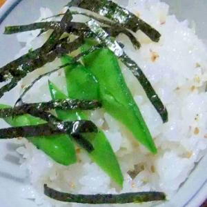 甘酢生姜とあみ海老のさっぱりごはん