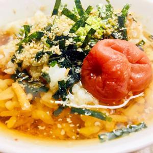 ★今日のシメのご飯-「簡単★冷やしウーロン茶漬け」