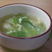 残り野菜の中華スープ