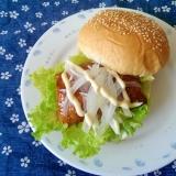 照り焼きチキンバーガー