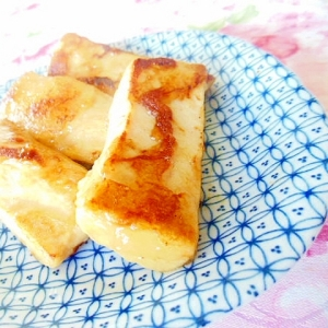 お八つ感覚❤高野豆腐の蜂蜜生姜炒め❤