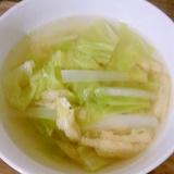 大根とキャベツの和風スープ