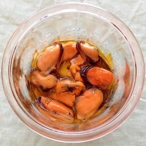 簡単☆ムール貝のオイル漬け