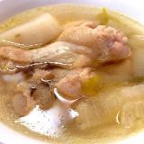 圧力鍋で手羽元のホロホロなスープ