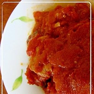 豚ひれ肉のトマト煮