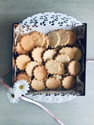 *Non oil*サクッと卵クッキー