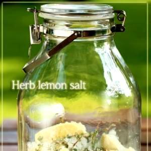 自家製ハーブレモン塩