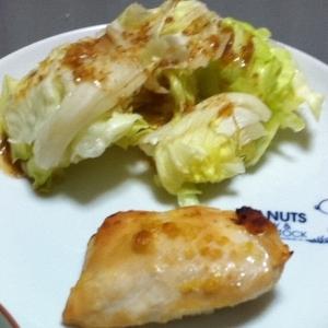 鶏肉の味噌焼き☆