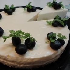 とってもお手軽バージョン♪レアチーズケーキ