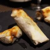 【富山食材】蛍烏賊と春キャベツの焼き春巻き