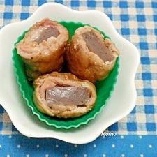 豚肉のコンニャク巻き