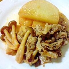 豚肉と大根の煮物