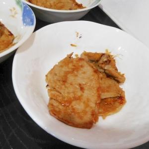 豚の生姜煮焼き!?