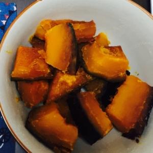 手抜きかぼちゃの煮付け