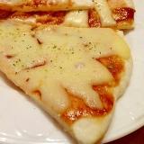 簡単クリスピー☆フライパンで作るピザ