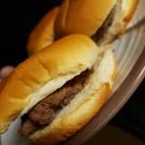アメリカ人から教わったハンバーガー♪