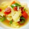 春キャベツと新玉ねぎのコンソメスープ