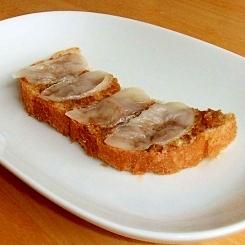 甘味噌餅トースト