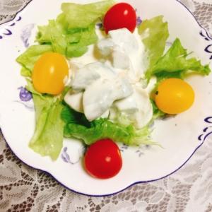 マーマレード風味のアボカドサラダ