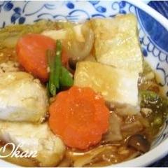 風邪撃退☆豆腐の治部煮風
