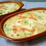 豆腐と長芋と卵のふわとろ焼き