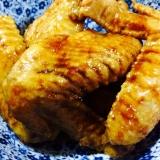 【ガサツ料理】こっくりさっぱり手羽先の赤酢煮込み