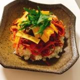 美味しいよ♬ 簡単、節約ちらし寿司