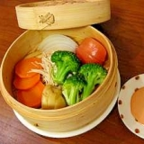 簡単☆せいろの野菜蒸し
