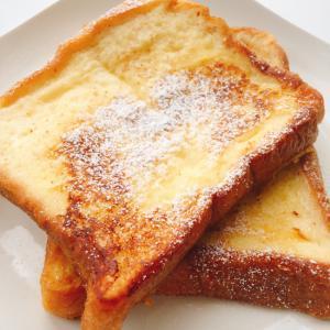 レンジで時短!柔らかじゅわ〜なフレンチトースト