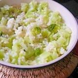 ブロッコリーの茎炊き込みご飯