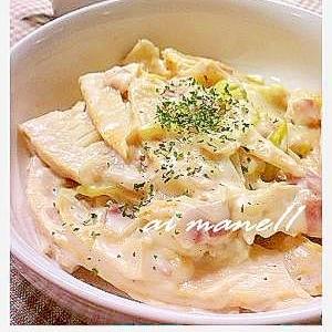 タケノコのクリーム煮