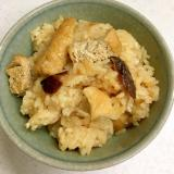 油あげご飯(福井の郷土料理)