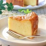 HKMとスライスチーズde節約チーズケーキ♡