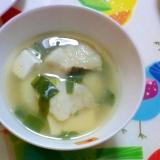 鱈とじゃがいものやさしいスープ
