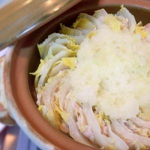 豚バラ白菜♡みぞれミルフィーユ鍋(雪見鍋)