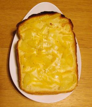 柚子練乳バタートースト