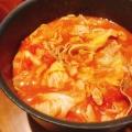 煮るだけ!キャベツと豚肉のトマト煮